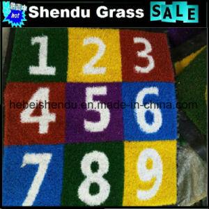 School Playground Decoration Mat Artificial Grass Mat pictures & photos