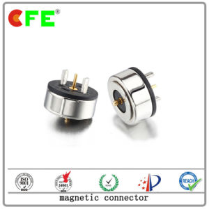 Customized 1pin Magnetic Connector for Visible Crab Clamp pictures & photos