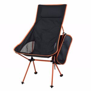 Lengthen Portable Fishing Chair Seat Lightweight Folding Outdoor Camping Chair pictures & photos
