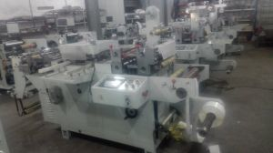 Automatic Paper Label Slitting& Rotary Die Cutting Machine pictures & photos