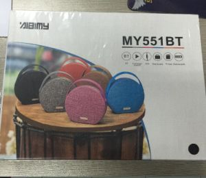 Bag Style My551bt Best Tone Quality Wireless Bluetooth Speaker pictures & photos