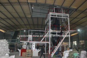 3sj-G50 Three-Layer PE Film Blowing Machine pictures & photos