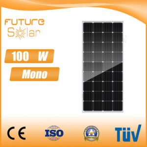 Futuresolar 100W Mono Solar Panel Ce CQC and TUV pictures & photos