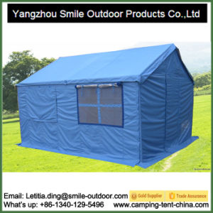 Luxury Canopy Fireproof Family Disaster Relief Refugee Tent pictures & photos