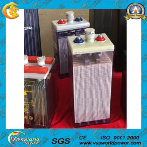 Deep Cycle Solar Battery Tubular Plate Opzs Battery 2V 100ah pictures & photos