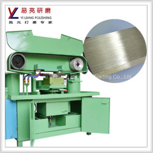 Automatic Stainless Steel Drawing Machine with Water Surface Drawing /Grinding pictures & photos