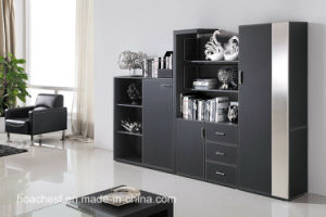 Multipurpose Popular Bookcase with PVC Leather (G10) pictures & photos