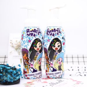 Cartoon Shampoo for Kids with Peppa Pig, Turtles, Bratz pictures & photos