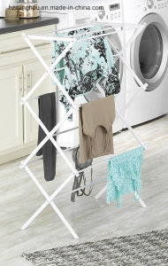 Factory Outline Hot Sales Folding Metal Clothes Drying Rack pictures & photos