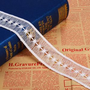 Water Soluble Guipure Chemical Lace Trim pictures & photos