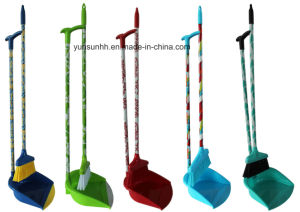 Floor Broom/Brush/Cleaner Set/ Dustpan& Brush Set with Design pictures & photos