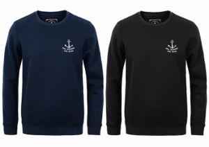 Custom Men Cotton Fleece Fashion Sweatshirts Sports Pullover Top Clothing (AL061) pictures & photos