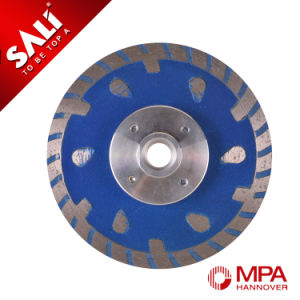 10mm Segments Continuous Rim Cutting Marble Stone Saw Blade pictures & photos