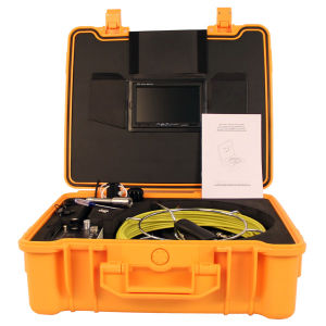 Wopson Drain Scope Pipe Inspection Camera with DVR pictures & photos