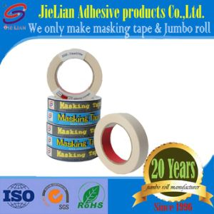 House Painting Crepe Paper Masking Tape From China Factory with Free Sample pictures & photos