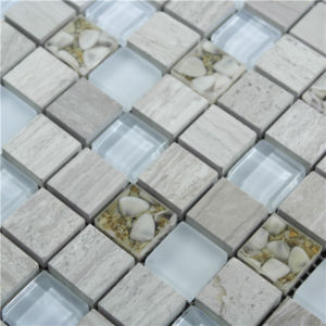 Building Material Marble Stone and Glass Mosaic for Kitchen and Bathroom Wall pictures & photos