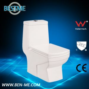 Modern Design One Piece Wc Toilet pictures & photos