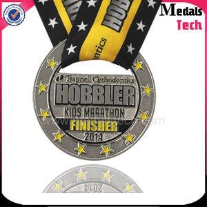 Die Casting Antique Silver Kid Marathon Medals pictures & photos