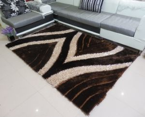 100% Polyester Shaggy Flooring Carpets/Rugs pictures & photos