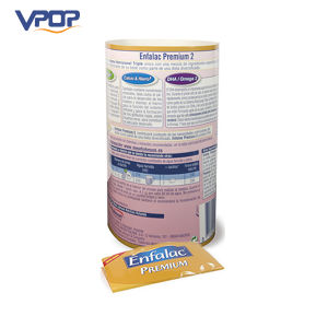 Milk Powder Container Shape Corrugated Paper Display Standee for Advertisng pictures & photos