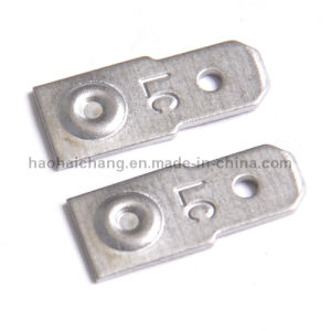 Stamping Parts Stainless Steel Flat Terminal for Automobile pictures & photos