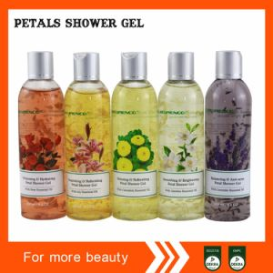 Fragrance Suspended Petal Shower Gel pictures & photos