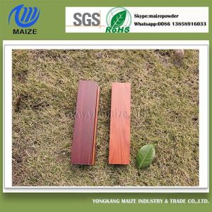High Imitation Wood Effect Powder Coating with Stable Quality pictures & photos