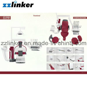 Ce/FDA Approved Top Mounted Suntem St-D580 Dental Chair Unit pictures & photos