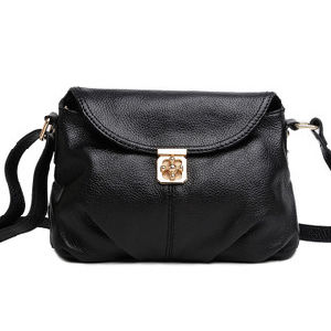 Fashion Satchel East West Horizontal Leather Hobo Lady Bag pictures & photos