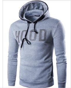 Wholesale Men Fleece Hoodies Pullover pictures & photos