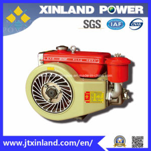 Horizontal Air Cooled 4-Stroke Diesel Engine X170f for Machinery with CNAS pictures & photos