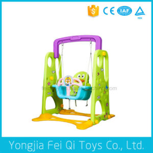 Indoor Playground Baby Toy Bear Plastic Multifunctional Swing for Kids Swing Toy pictures & photos