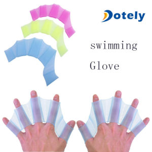 Silicone Hand Webbed Flippers for Swimming pictures & photos