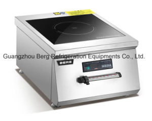 Commercial Hot Sale Freestanding Stainless Steel Induction Griddle for Restaurant pictures & photos