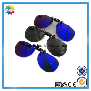 Wholesale Night Vision Clip Clip Driving Clip on Sunglasses pictures & photos