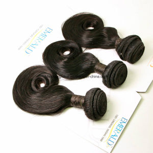 Brazilian Virgin Hair Magic Curl Natural Color Three Pieces in One Pack pictures & photos