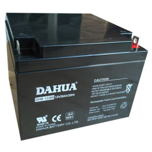 12V 26ah VRLA Sealed Lead Acid Maintenance Free UPS Battery pictures & photos