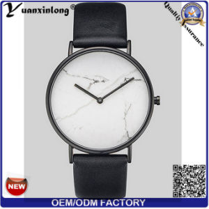 Yxl-072 Fashion Marble Face Leather Watch Hot Sale Mens Watches Promotion Quartz Men′s Wrist Watch Water Resistant OEM Watches Lady pictures & photos
