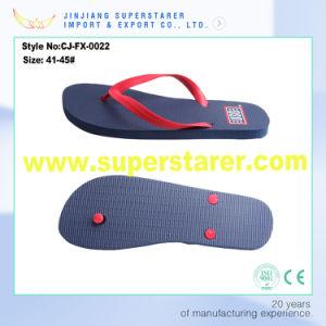 Custom Printed PE Flip Flops, Wholesale Solid Color Flip Flop pictures & photos