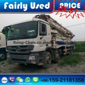Second Hand Zoomline Concrete Pump Truck 48 Meters pictures & photos