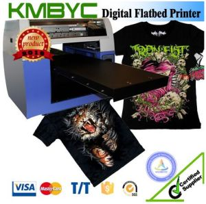 Byc168-2.3 Digital Flatbed T-Shirt Printer Vinal Printer pictures & photos