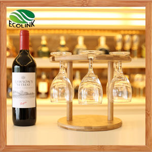 Natural Bamboo Wine Glass Holder / Glass Rack for 6 Cups pictures & photos