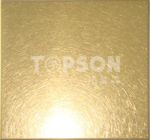 Cold Rolled Vibration Color Stainless Steel Sheet Plate for Decoration