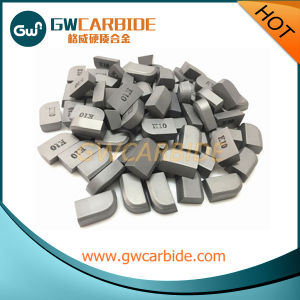 Metal Working Tungsten Carbide Brazed Inserts Carbide Brazed Tips pictures & photos