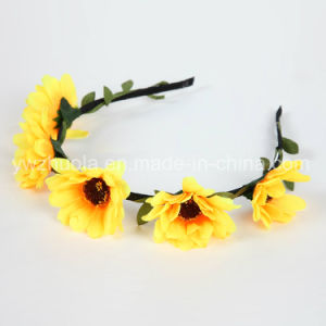 Hot Sale Colorful Flower Headband Wreath pictures & photos