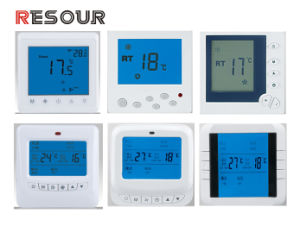 LCD Room Thermostat for Air Conditioning, Thermostat Switch pictures & photos
