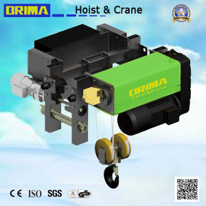 10t Single Girder Low Headroom European Style Brima Good Quality Electric Wire Rope Hoist pictures & photos
