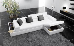 European Design Corner Leather Sofa with Storage (HC1070) pictures & photos