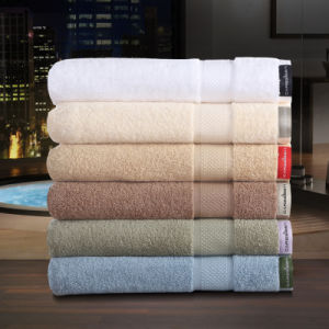100 % Cotton High Quality 550GSM Okotex 100 Standard Bath Towel (DPF10781) pictures & photos