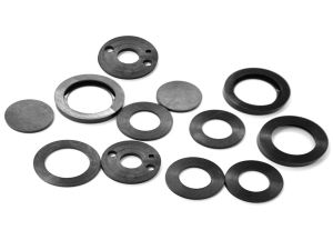 Oil Resistant NBR EPDM Silicone Rubber Flat Seals pictures & photos